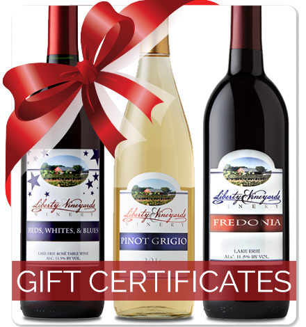 Liberty Vineyards Gift Certificates